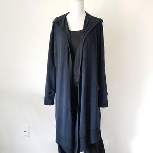 CAbi Long Hooded Cardigan #181 Size Medium